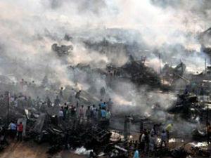 Blaze In Vadodara Firecracker Market One Killed