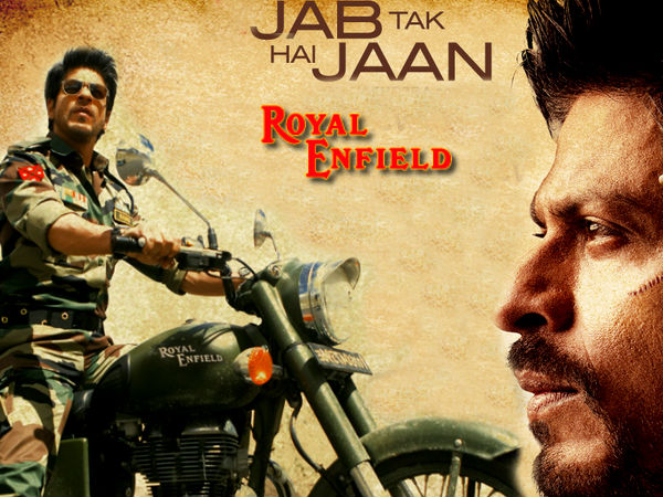 Watch Photos Shahrukh Royal Enefield Jtjh