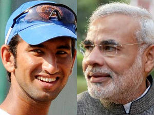 Narendra Modi Praises Pujara For Powerful Performance