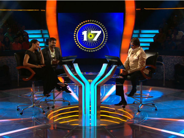 Son Of Sardar Cast Visited Kaun Banega Crorepati Set