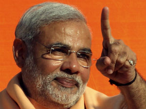 Narendra Modi Addressed 4 Public Meetings Simultaneous