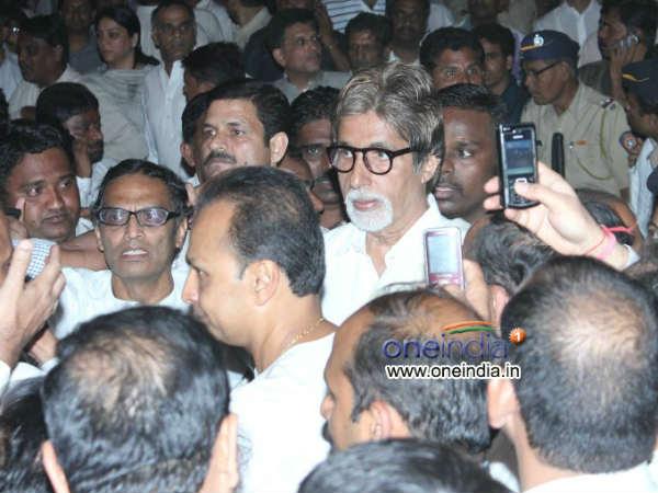 What Stirred Amitabh Bachchan Bal Thackeray Funeral