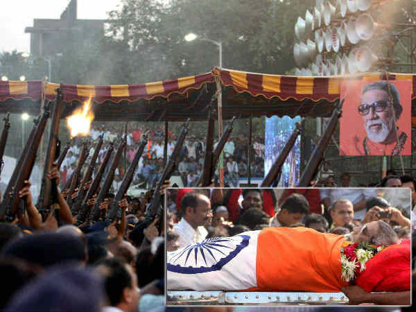 State Honours Tricolour For Bal Thackeray What For
