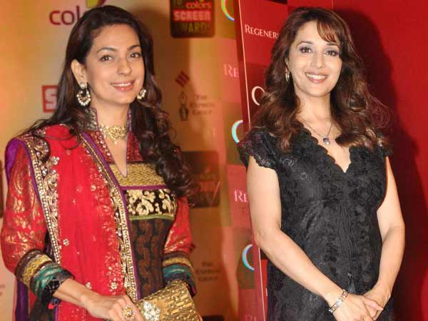 Madhuri Juhi Together Gulab Gang