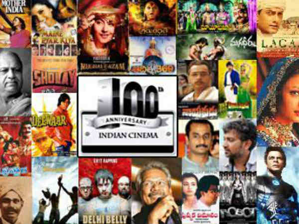 Indian Cinea 100 Years Logo