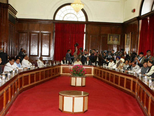 No Consensus At All Party Meet On Fdi