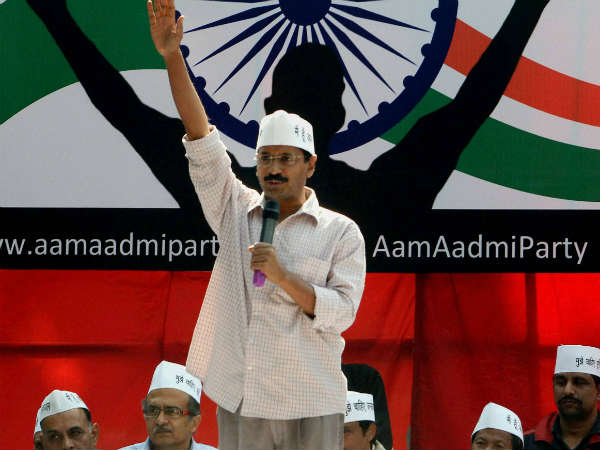 Arvind Kejriwal Launches Aam Admi Party Today