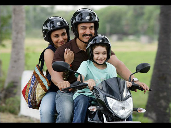 Rani Very Cofortable Aamir Khan
