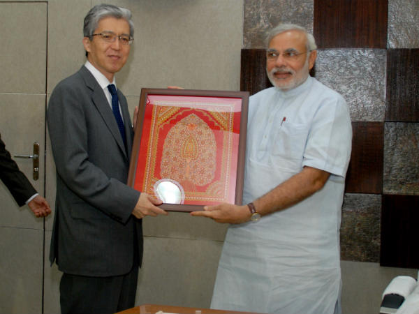 Japanese Envoy Meets Gujarat Chief Minister
