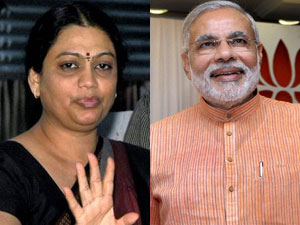 Shweta Bhatt Will Be Contest Agaist Narandra Modi