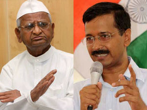 Anna Hazare To Campaign Only For Arvind Kejriwal Party