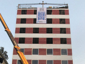 No Sand No Cement 10 Storey Building In 48 Hours