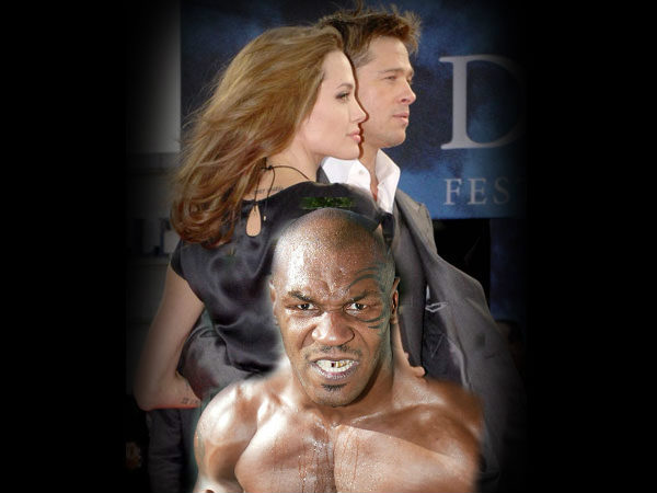 Why Tyson Told Brad Pitt Bed Wife