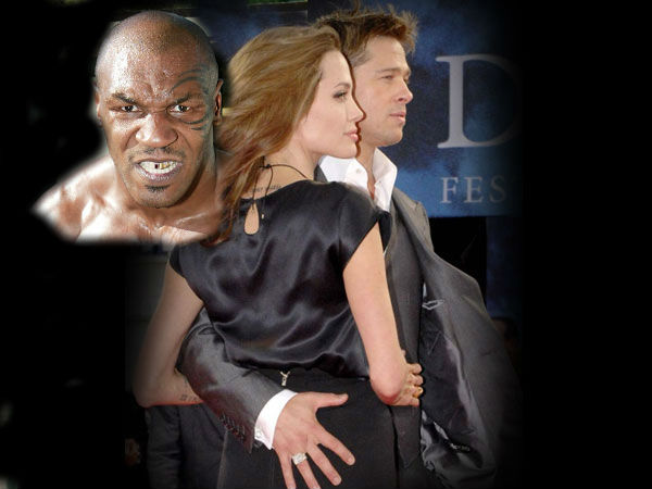 Mike Tyson Caught Brad Pitt Bed With Wife
