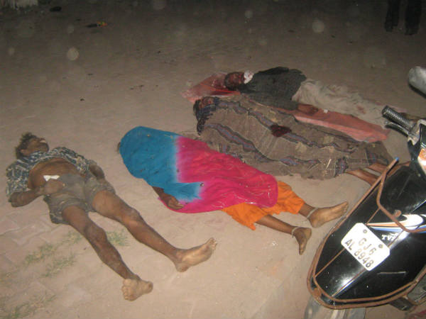 Dabhoi Near Accident 4 Killed