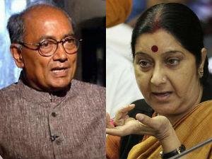 Sushma Swaraj Eligible Become Pm Says Digvijay Singh