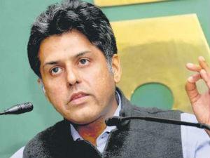 Cabinet Minister Manish Tiwari Attack On Modi