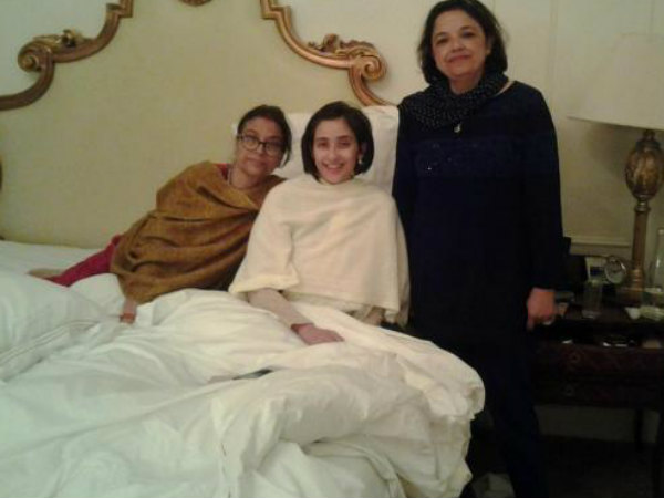 Manisha Koirala Surgery Successful New York