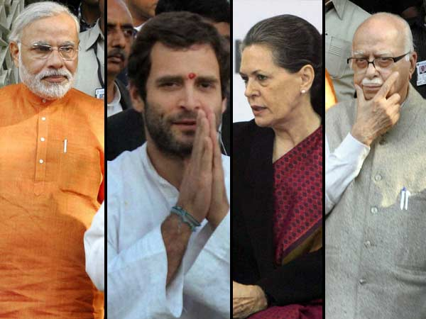Narendra Modi Always Dominate Over Gandhi Family