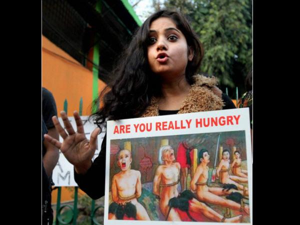 Gang Rape Case Protest At New Delhi