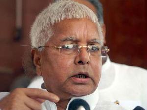 Lalu Favours Death Sentence For Rapists