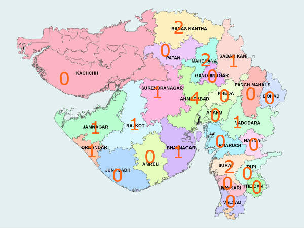 Modi Cabinet 15 Districts Deprived Of Representation