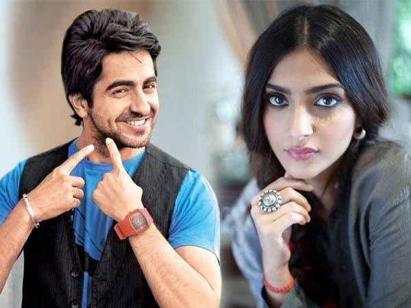 Sonam Kapoor Ayushman Khurana In Yash Raj Next Film