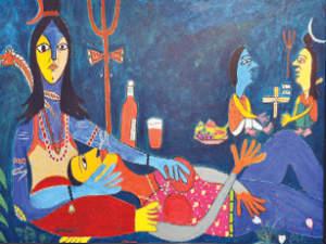 Vadodara Lord Shiva S Controversial Painting