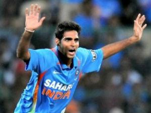 Bhuvneshwar Starts His International Career With Record