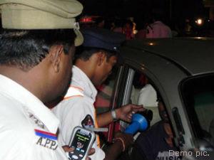 Drunker Arrested From Mumbai At Last Night