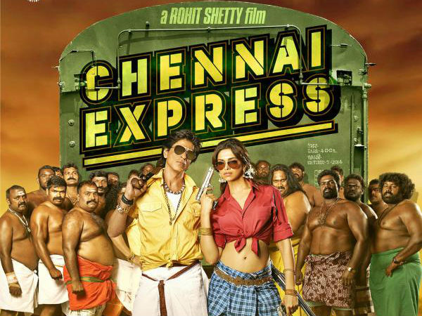 Chennai Express First Look Released