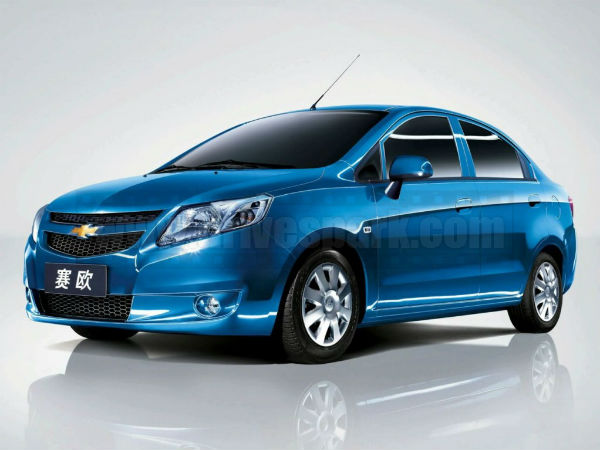 Chevrolet Launch Sail Sedan 2013 Photos