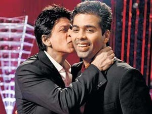 Karan Johar Misses Shahrukh Khan Party Salman Khan