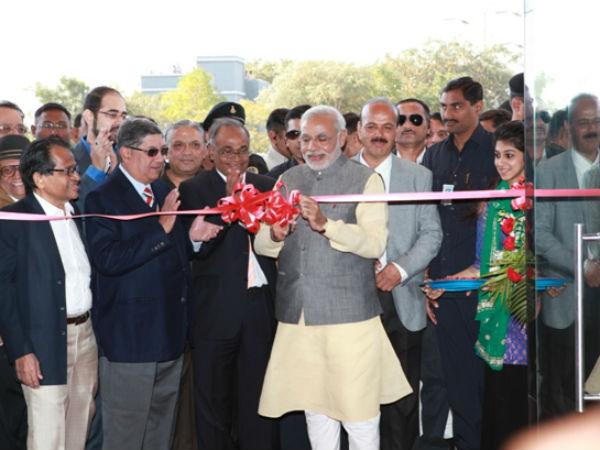 New Cricket Stadium Inauguration In Rajkot By Cm Modi