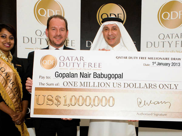 Indian National Wins Usd 1 Million Cash Prize In Qatar
