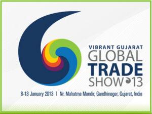 Modi Inaugurated Global Trade Show In Vibrant Gujarat