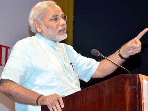 Narendra Modi Addressed Icai Vibrant Gujarat Summit