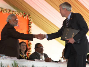 Mou With Eight Foreign University In Icai At Vibrant
