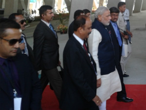 Vibrant Gujarat Narendra Modi And Delegates Dinner
