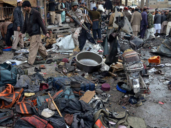Killed Over 200 Injured In Four Blasts In Pakistan