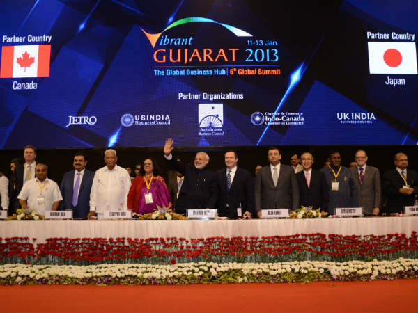 Vibrant Gujarat Global Summit 2013 Happens Crore Mou