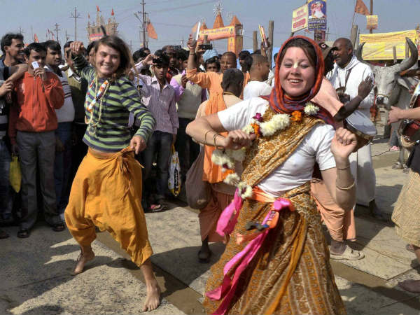 Colourful Kumbh Mela Attracts Foreign Devotees