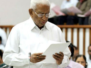 Vaju Vala Filled Nomination Form For Assembly Speaker