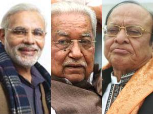 Modi Vaghela And Keshubhai In Assembly