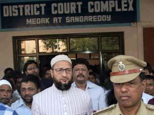 Hate Politics Asaduddin Gets Bail