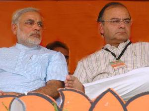 Modi Meets Arun Jaitley After Meeting With Rajnath