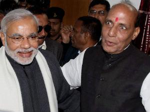 Discison With Bjp President On 2014 Election Says Modi