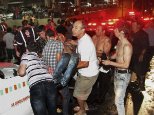 Die In Panicky Stampede In Brazil Club Fire