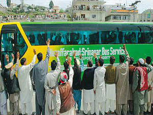 India Pakistan Trade Bus Services Again Starts Today