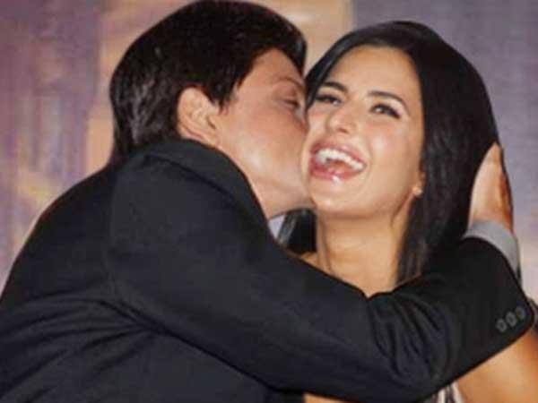 Shahrukh Khan Never Hesitate Kiss Katrina Kaif